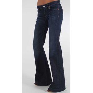 7 For All Man Kind Dojo Flare Leg Trouser Jeans